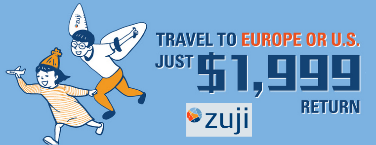 Zuji Hong Kong Coupons